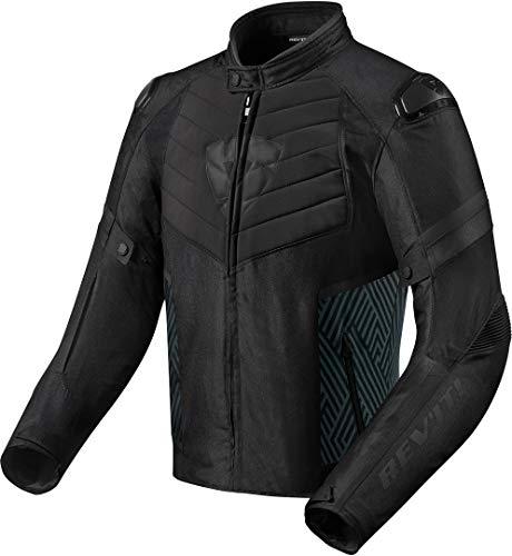 Revit ARC H20 Motorrad Textiljacke Schwarz L