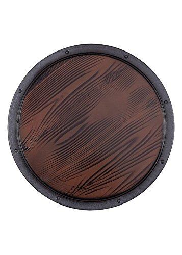 Epic Armoury 423013 RFB Schild, Holz, Durchmesser 50 cm, rund, für Erwachsene