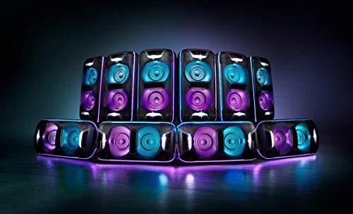Sony GTK-XB72 High PowerParty Lautsprecher (Bluetooth, NFC, One Box Hifi Music System, Extra Bass, Lichtleiste, Lautsprecherbeleuchtung, Stroboskoplicht) schwarz - 3