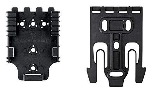Safari01 Quick Locking System Kit with QLS 19 and QLS 22 Polymer-Black