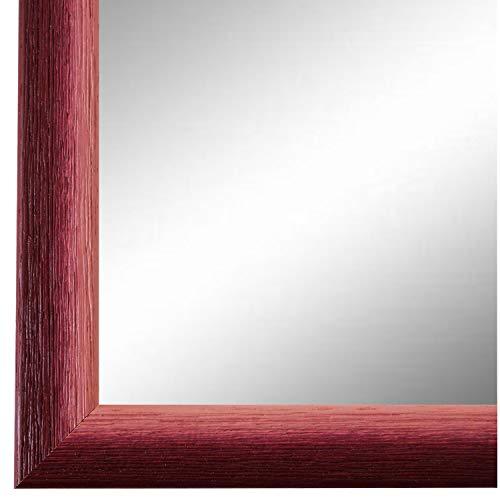 Online Galerie Bingold Spiegel Wandspiegel Rot 30 x 90 cm - Modern, Vintage, Shabby - Alle Größen - Massiv - Holz - AM - Pinerolo 2,3