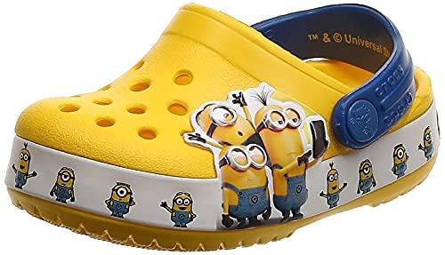 Crocs Unisex-Kinder Crocsfl Minions Multi K Clogs, Gelb (Yellow 730), 25/26 EU