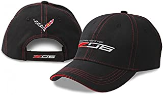 West Coast Corvette C7 Z06 Driver's Hat Black/Red