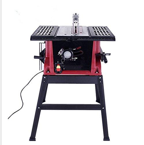 GOWE Scie circulaire à bois coulissante 254 mm 220-240 V/50 Hz Scie électrique 1600 W