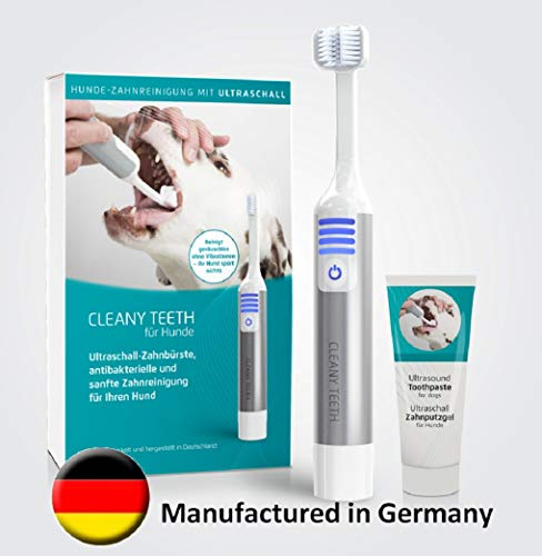 CLEANYTEETH Cleany Teeth für Hunde Starter-Kit