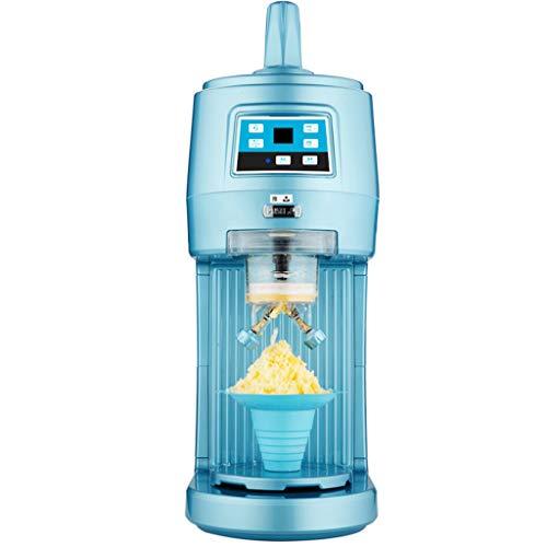 Elektrisch ijsscheerapparaat, fabrikant van sneeuwconus, Commerical ijsscheerapparaat, 220V, elektrische sneeuwkegelmachine, geluidsschakeling, timing bedieningspaneel, 70 kg/uur