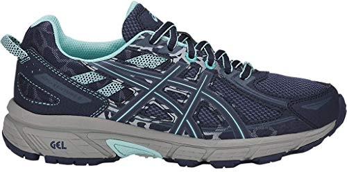 Damen-Laufschuhe von Asics, Gel-Venture 6, Blau (Ink Blue/Aruba Blue/ Mid Grey), 36 EU