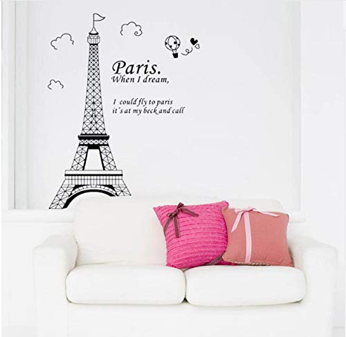 Stickers muraux déco Paris Tour Eiffel réf 11112 11112