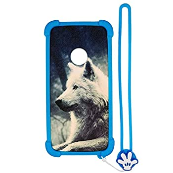 Case for ZTE z3001s Case Silicone Border + PC Hard backplane Stand Cover Lang