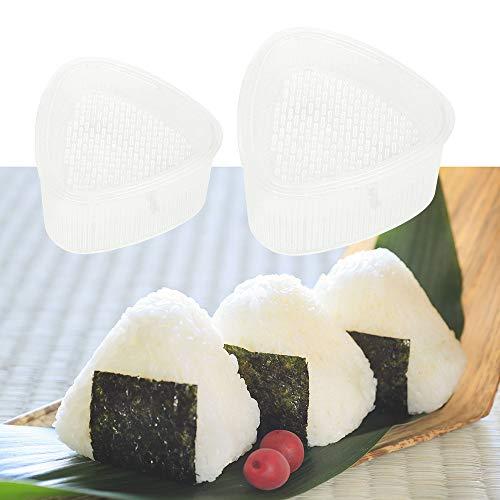 Runy Lebensmittelpresse Bento Werkzeuge 2 Stück/Set Küche Zubehör Sushi Onigiri Form DIY Triangle Reisball Maker
