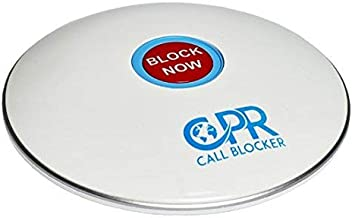 CPR Call Blocker Shield - Pre-programmed With 2000 Scam Numbers Plus The Ability To A Block Further 1500 Numbers At The Touch Of A Button. Caller ID Service Is Required (Gloss White)
