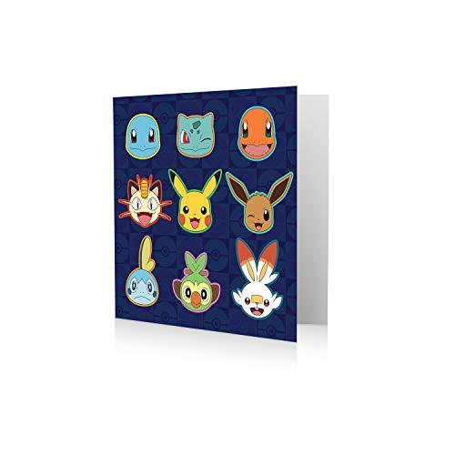 Offizielle Pokémon-Geburtstagskarte.