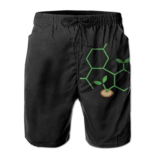 GOSMAO Swimming Trunks CBD Molecule...