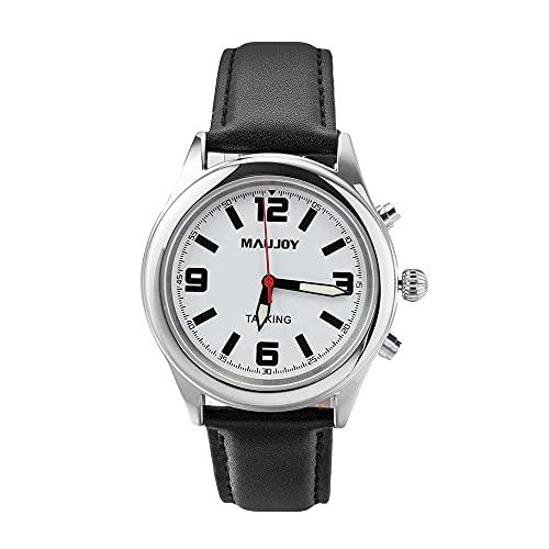 MAUJOY Reloj Parlante en Español con indicación de la Hora...