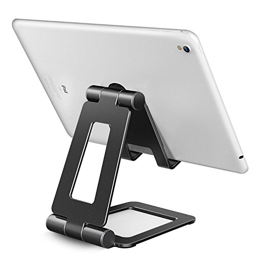 Adjustable iPad, Tablet, Kindle & Cell Phone Travel Stand