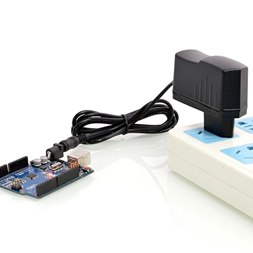 RPS DC 5V 2A Adaptador de Corriente, AC 100-240V EU Cargador de Pared con Clavija 3.5mm Alimentación para Arduino, Hub USB, SATA Adaptador, Router, etc