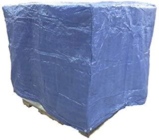 4 Ft. X 5 Ft. X 4 Ft. Blue Poly Pallet Cover - 5 Pack