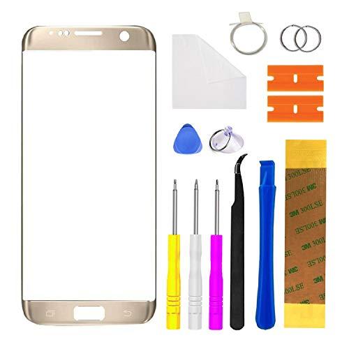 Xlhama - Pantalla táctil compatible con la serie Samsung Galaxy S7 Edge...