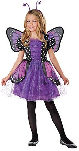 u s toy kids halloween costumes SEASONS DIRECT Halloween Costumes Girl's Brilliant Butterfly Purple Costume with Wings, Dress, Headband (8-10 US)