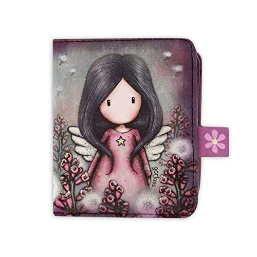 SANTORO GORJUSS 1030GJ02, Billetero Monedero Little Wings para Mujer, Rosa, Pequeño