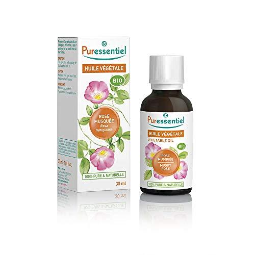 Puressentiel - Huile Végétale Rose Musquée - Bio - 100% pure et naturelle - 30 ml