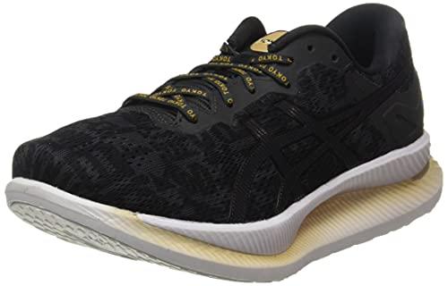 ASICS 1012A930-001_41,5, Zapatillas de Running Mujer, Noir Gris Foncã, 41.5 EU