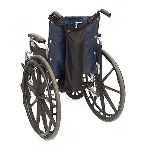 Drive Medical Deluxe - Bolsa de transporte para silla de ruedas para cilindros de oxígeno, se adapta a cualquier silla de ruedas, color negro (se adapta a la mayoría de los cilindros de oxígeno)