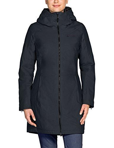 VAUDE Damen Women's Annecy 3in1 Coat II Wintermantel, Phantom Black, 36
