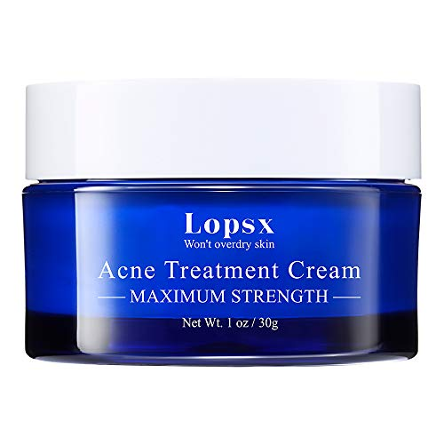 Lopsx Anti Acne Treatments Cream for Spots Blemishes and Blackheads Problem...