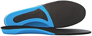 Plantar Fasciitis Insoles by Synxsole   As Seen On Shark Tank   Arch Support, Improve Alignment, Reduce Tissue Stress   Large (W 13.5-15   M 12-14)