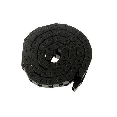 XBaofu 1pc 10x10mm 10x15mm 10x20mm Cable Cadena de Arrastre del Alambre Portador for la máquina fresadora CNC de la máquina Impresora 3D L1000mm (tamaño : 10x20 mm)