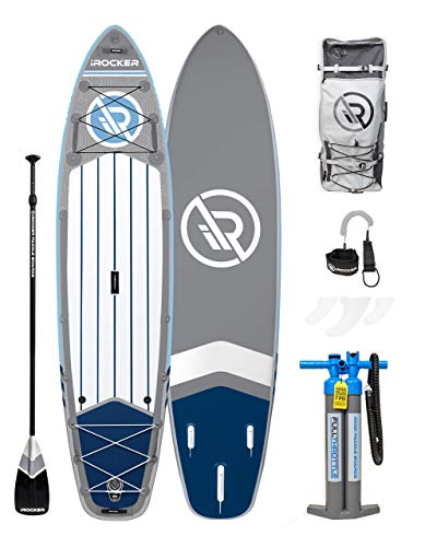 iROCKER All-Around Inflatable Stand Up Paddle...