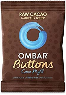 Ombar Coco Mylk Raw Chocolate Buttons 25g