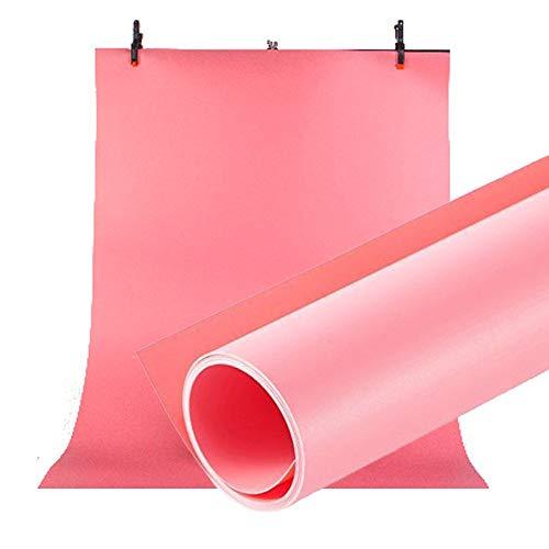 Selens PVC Hintergrund 120x200cm Wasserdicht Fotografie Hintergründe Matte Background für Fotostudio Rosa