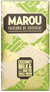 Marou Chocolate Ben TRE Coconut Chocolate Bar 80 g,  80 g