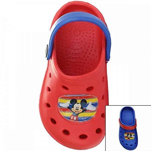 KK Mickey Mouse Badeschuhe Sandalen Sandaletten rot Gr. 28/29