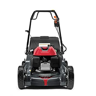 Honda HRX217K6HYA 21 Inch 4 in 1 Versamow System Gas Walk Behind Lawn Mower, Red