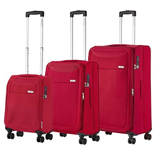 CarryOn Air Zachte TSA bagage kofferset 3-delige trolleyset