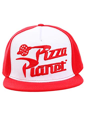 Toy Story Pizza Planet Snapback Adult Hat Standard Red