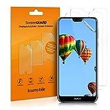 kwmobile 3X Folie kompatibel mit Nokia 7.1 (2018) - klare Bildschirmschutzfolie Bildschirmschutz kristallklar Bildschirmfolie Schutzfolie