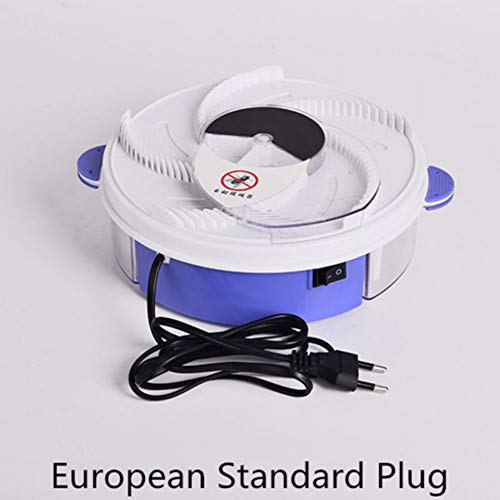 Savlot Elektrische vliegenvanger, vliegenvanger, peest insect, automatische vliegenvanger, insectenvanger, vliegenvanger, insectenvanger, vliegenvanger, muggenvanger, USB-stekker, EUR-stekker Euro.