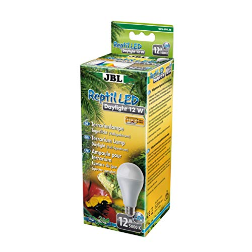 JBL Reptil LED Daylight 12W LED Tageslichtlampe mit Vollspektrum für Terrarien
