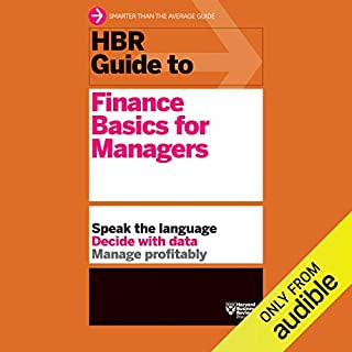 HBR Guide to Finance Basics for Managers audiobook cover art