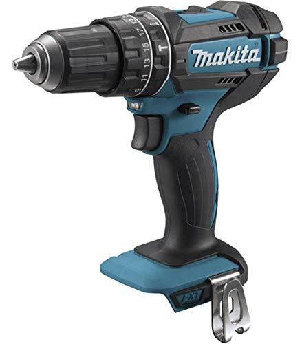 Makita DHP482ZJ drill zonder sleutel zwart, blauw 1900 RPM - Drills (1900 tpm, 1,3 cm, 3,8 cm, 62 Nm, 36 Nm, 9000 BPM)
