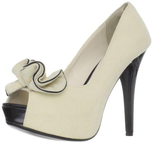 Pinup Couture Lolita-10 open plateau laarzen, retro-stijl, 35-42