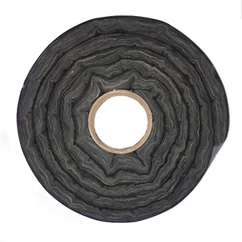 Glass Fireplace Door Insert Fiberglass Insulation Sealing Kit Black 10 Feet Long