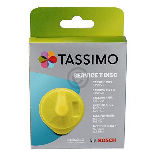 Reinigungsdisc ORIGINAL Bosch Siemens 17001490 TDisc gelb für Tassimo Kapselmaschine