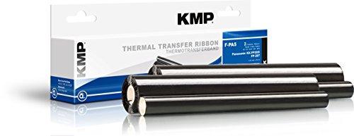 KMP F-PA5 - Rollo de transferencia térmica compatible con Panasonic KXFA52X, color negro