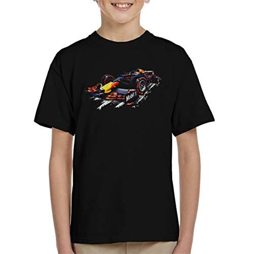 Motorsport Afbeeldingen Rode Stier Racing RB15 Max Verstappen Kinder T-Shirt