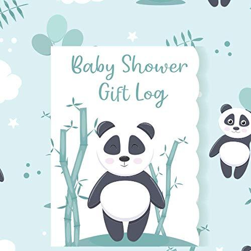 Baby Shower Gift Log: Gift Record Keeper Gift Tracker Notebook Gift Registry Recorder Organizer Baby Shower Gift Log Baby Registry